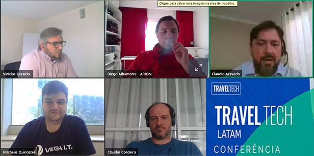 Ferramenta de gerenciamento e transformação digital são temas na abertura da Travel Tech online