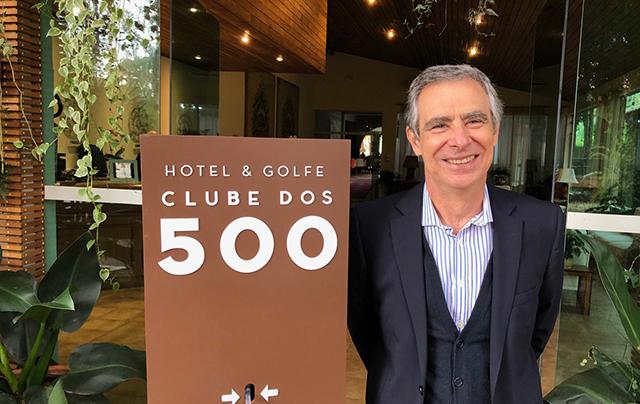João Araújo é o novo Gerente geral do Hotel & Golfe Club dos 500 (SP), operado pela HotelCare