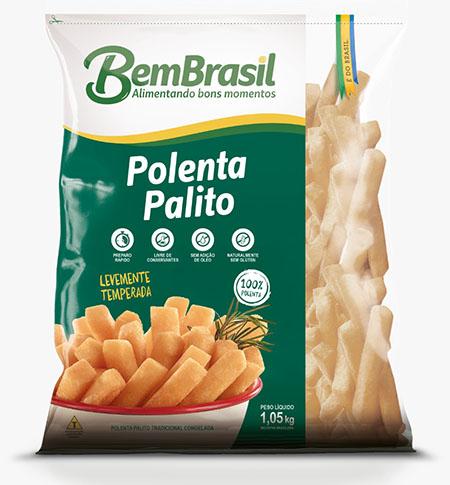 Bem Brasil lança polenta e mandioca palitos