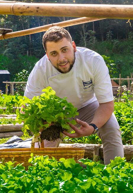 Vitor Rabelo é o novo Chef do hotel Fazenda Santa Vitória