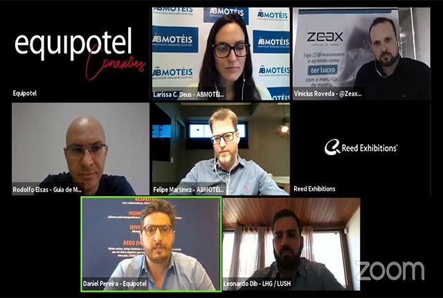 Live na Equipotel Conexões abordou reinvenção do setor moteleiro na COVID-19