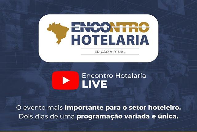 Encontro da Hotelaria Mineira virtual acontecerá dias 19 e 20 de agosto