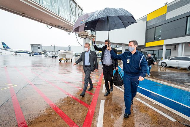 Aeroporto de Foz inaugura melhorias em setembro