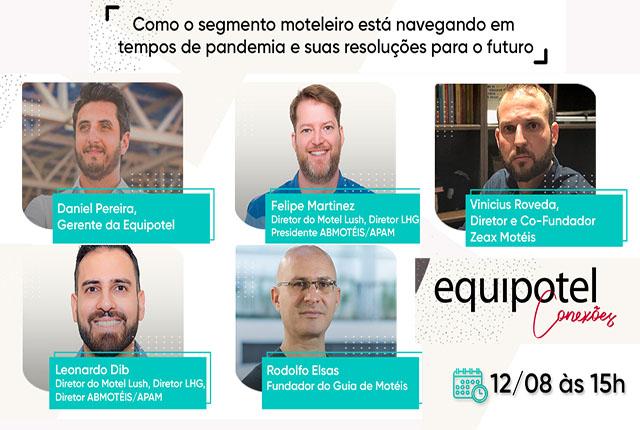 Live na Equipotel Conexões debaterá reinvenção do setor moteleiro na COVID-19
