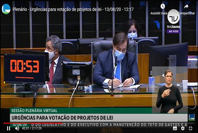 Câmara aprova regime de urgência na votação de PL 3968/1997