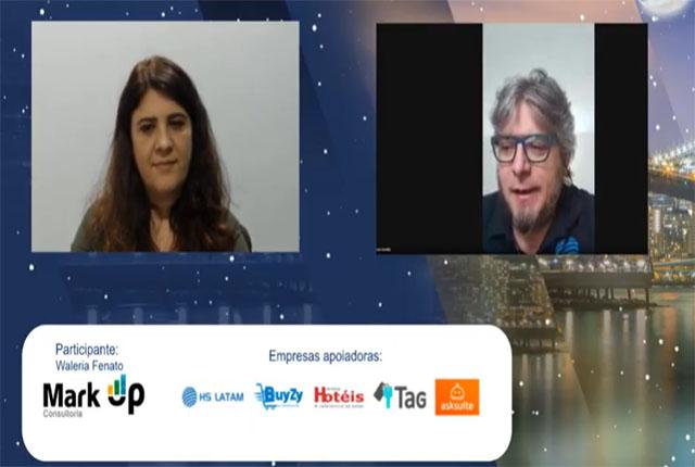 Travel Tech Talks teve a participação de Waléria Fenato falando de RM