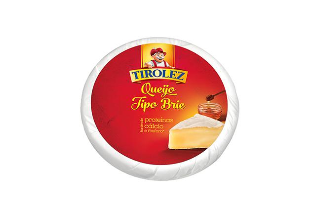 Tirolez lança Queijo Brie em peça de 3kg
