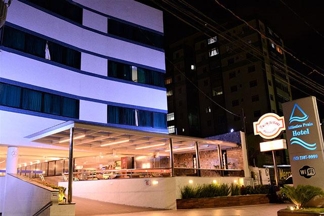 Atlântico Praia Hotel em João Pessoa (PB) finalizou retrofit