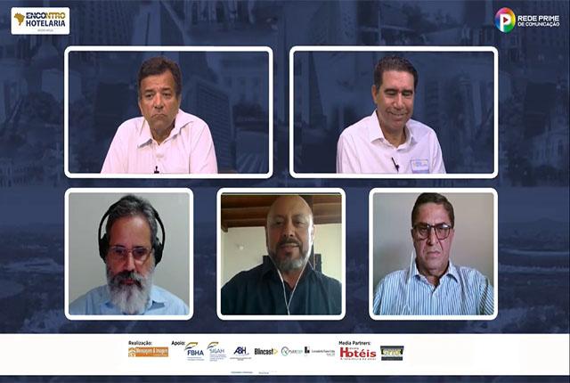 Live do Encontro da Hotelaria Mineira analisa saúde financeira dos hotéis