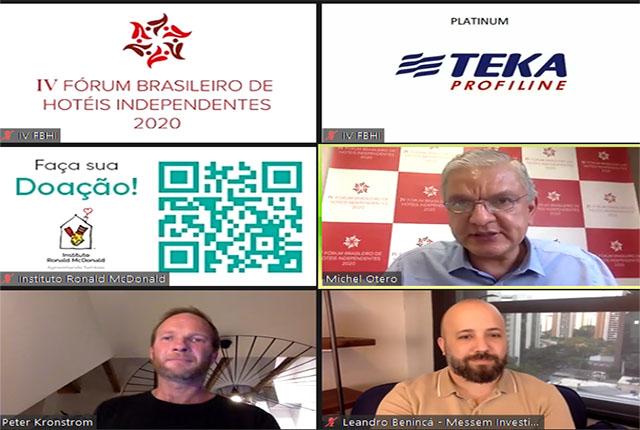 IV Fórum Brasileiro de Hotéis Independentes debateu situação econômica