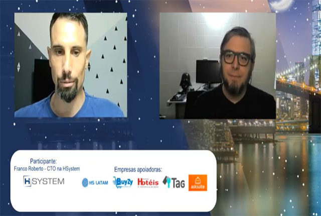Travel Tech Talks Night teve participação de Franco Roberto da HSystem