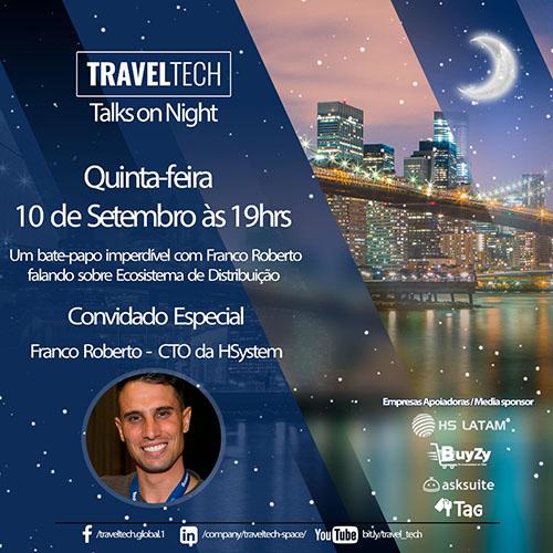 Franco Roberto, Diretor da HSystem, participará da Travel Tech Talks