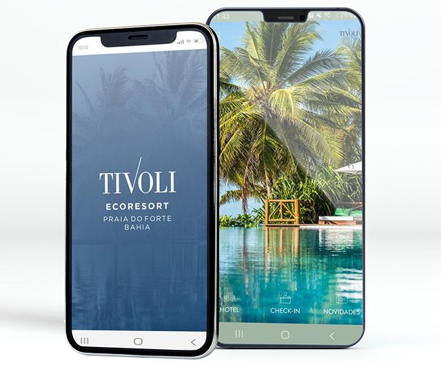 Tivoli Ecoresort Praia do Forte lança aplicativo