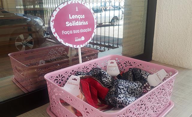 Grupo Marbor lança campanha Lenços Solidários