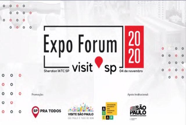 Expo Fórum Visite São Paulo é detalhado em coletiva virtual