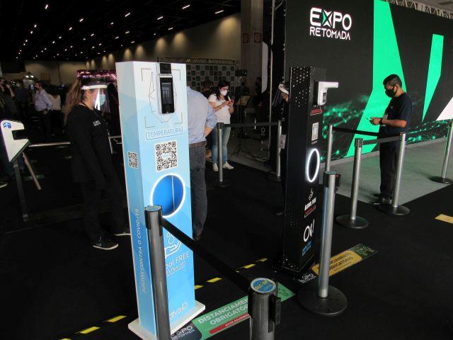 Otimismo marca início da Expo Retomada em SP