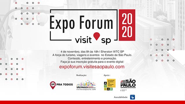 Expo Forum Visit SP será realizado em novembro com evento digital