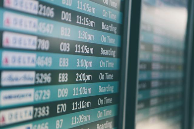 Demanda por voos domésticos recua 55,2%