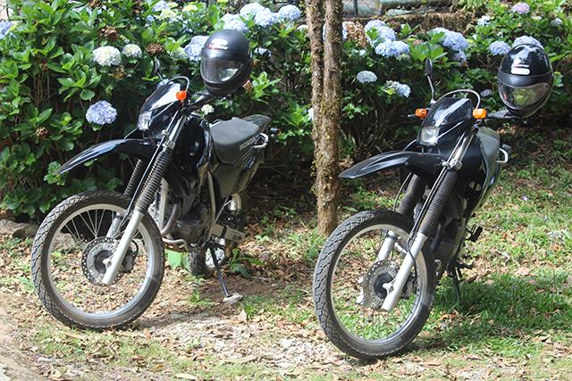 Pousada Pedras e Sonhos oferece locação de motos