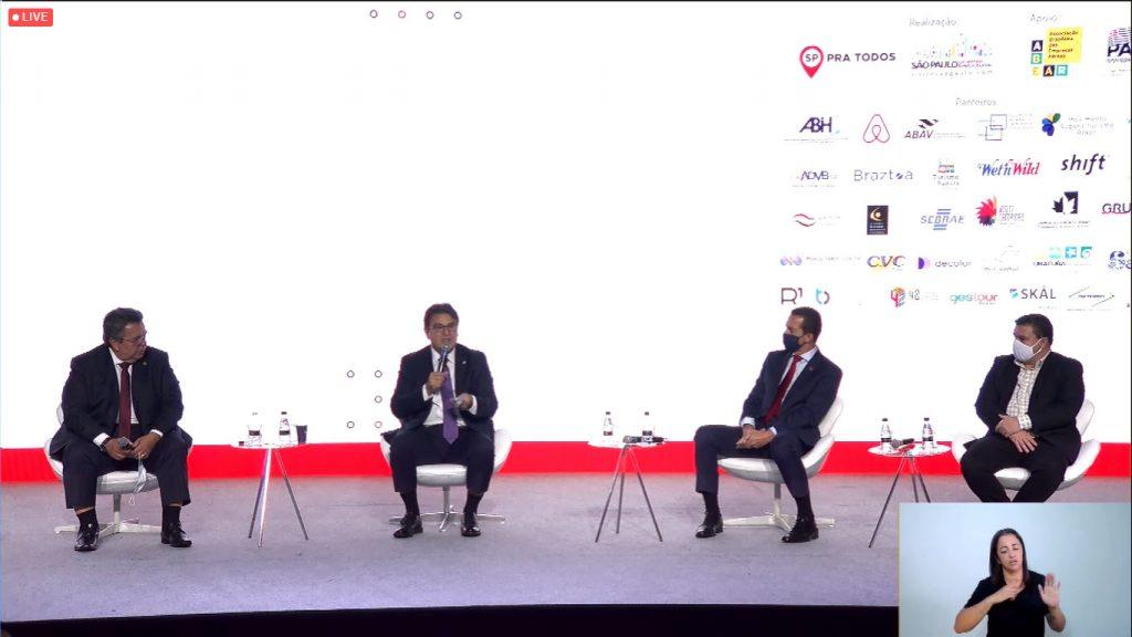 Ações políticas no turismo são debatidas no Expo Forum Visit SP