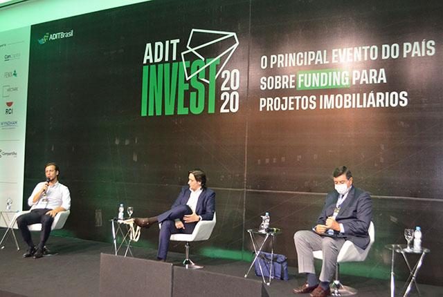 Painel da ADIT Invest 2020 debateu o crescimento dos fundos imobiliários