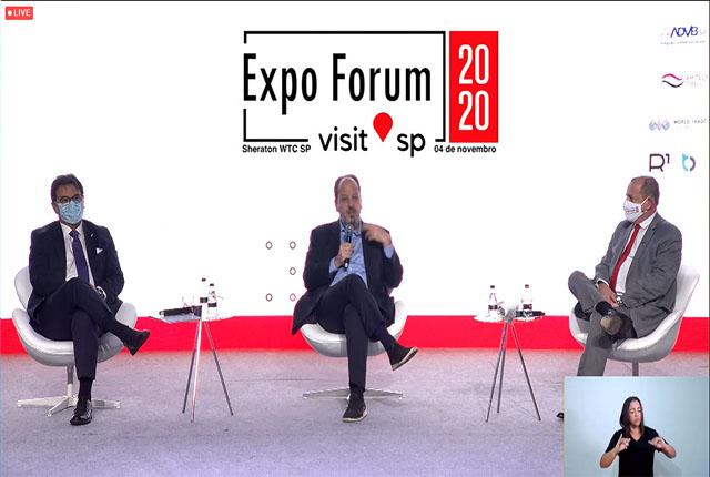 Expo Forum Visit SP tem início com foco na retomada do turismo paulista