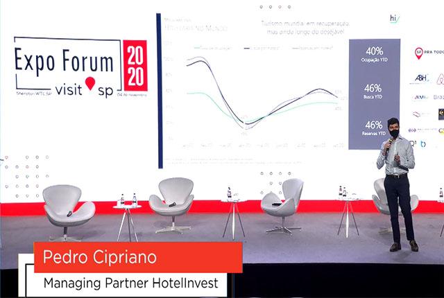 Cenário dos hotéis e perspectivas é apresentado no Expo Forum Visit SP