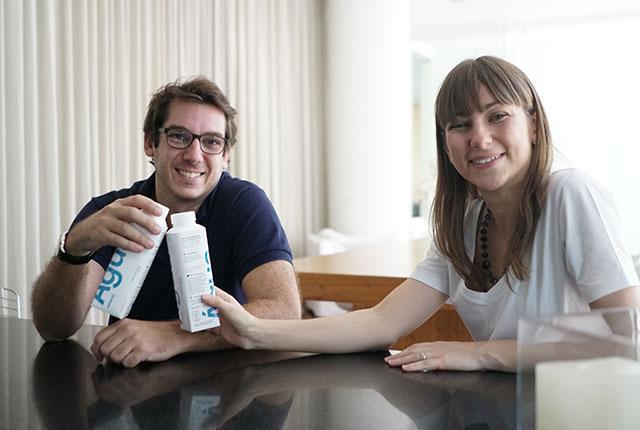 Startup lança envasamento inédito de água mineral em caixa reutilizável