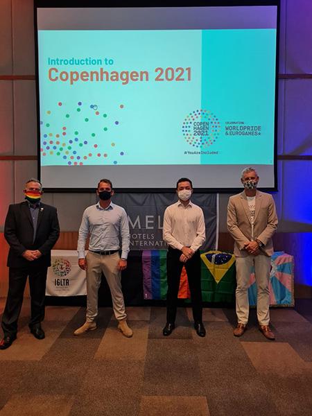 Câmara LGBT, IGLTA e Meliá apresentam Copenhagen 2021 para o mercado brasileiro