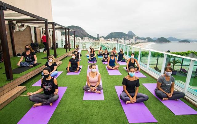 Breakfast Club retorna ao Pestana com prática de meditação e Yoga