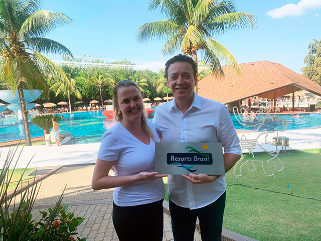 Resorts Brasil celebra associação do Recanto Cataratas Thermas Resort & Convention (PR)