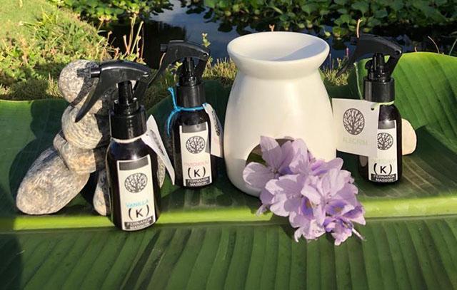 Kilombo Villas cria exclusiva linha de aromaterapia