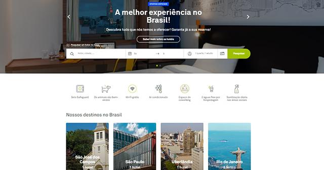 B&B Hotels Brasil se junta à Europa e tem migração de site oficializada