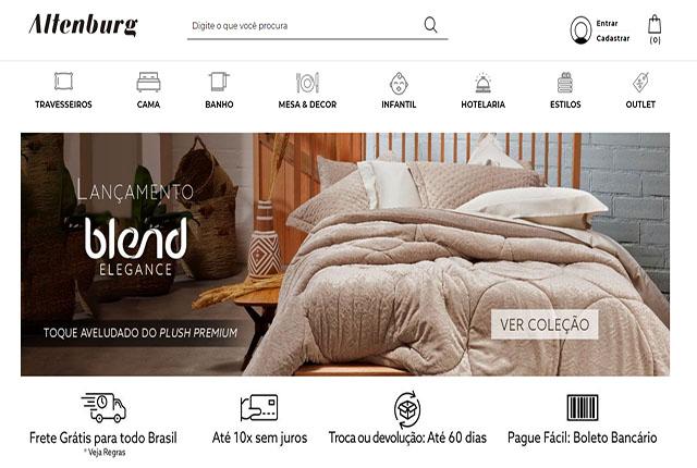 Altenburg cresceu 70% nas vendas por e-commerce em 2020