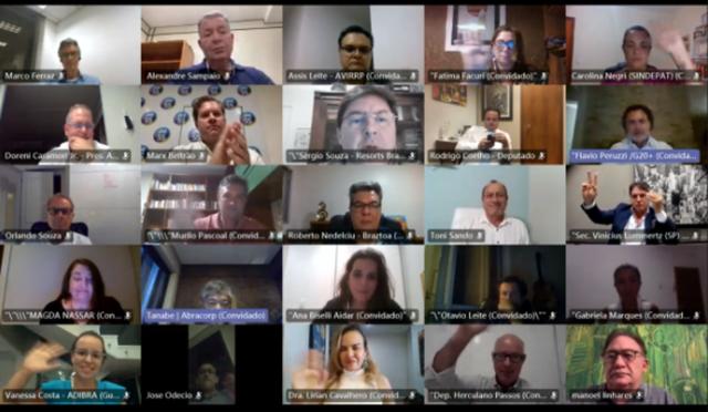 FBHA discute ações para auxiliar o setor durante a pandemia