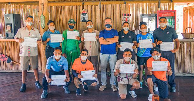 Colaboradores do La Torre Resort participam de treinamento de emergência