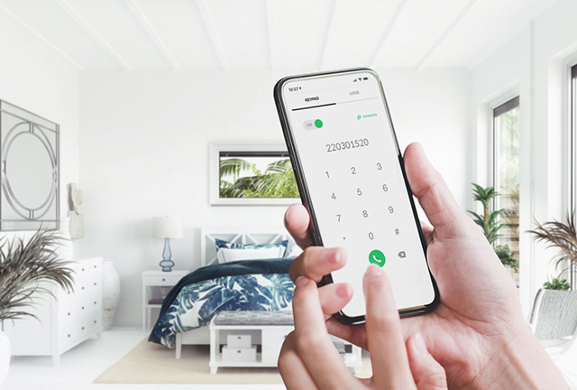 Aproveite ao máximo o App do seu hotel, oferecendo um Softphone integrado