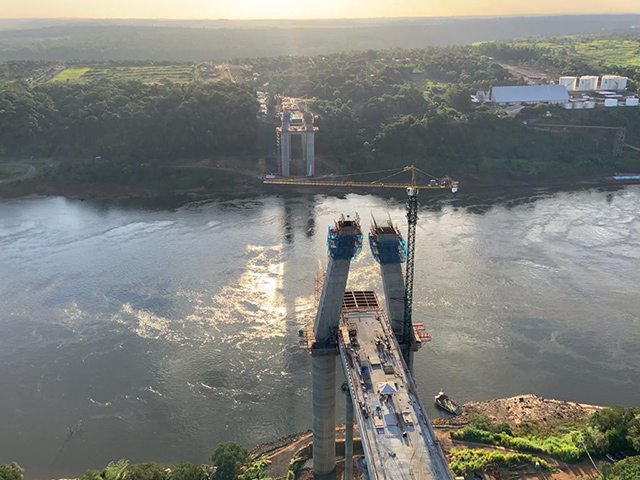 Investimentos de Itaipu na nova ponte já somam mais de R$ 100 milhões