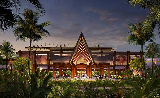 Disney's Polynesian Resort revela novos quartos temáticos