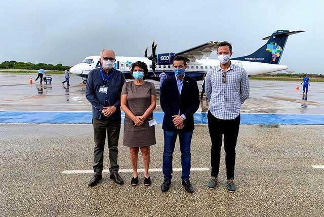 Azul retoma voos regulares ligando Recife à Mossoró
