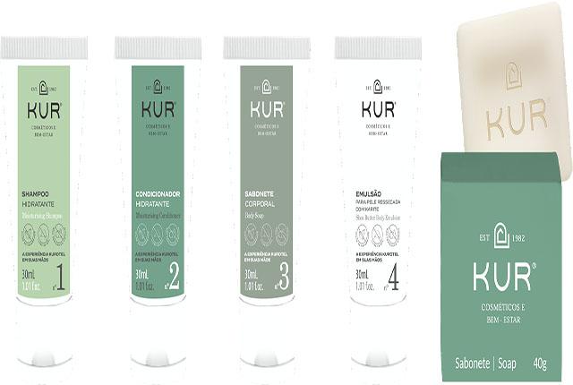 Harus desenvolve linha exclusiva de amenities para a KUR Cosméticos