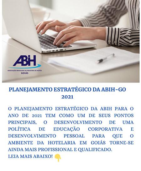 Planejamento estratégico da ABIH-GO para 2021 é detalhado