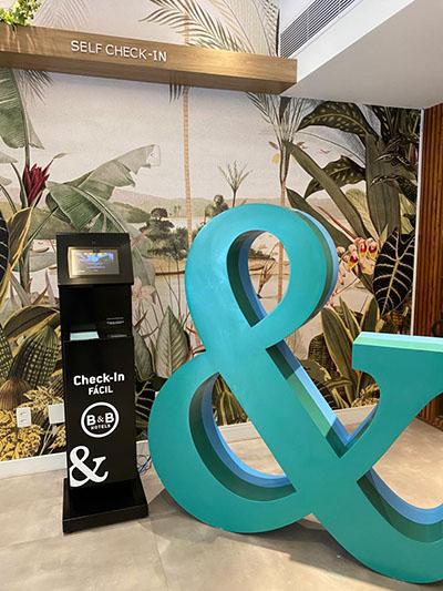 Rede B&B Hotels implanta Check-in Fácil em suas unidades