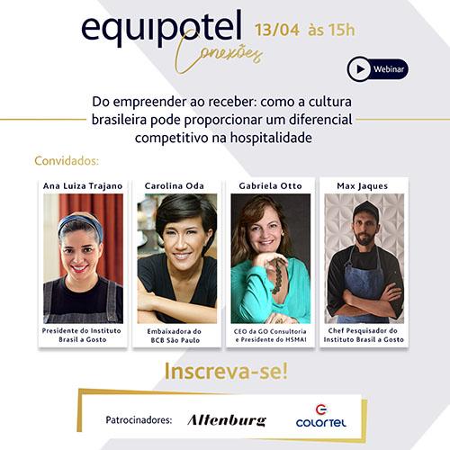Equipotel Conexões debaterá diferencial competitivo na hospitalidade