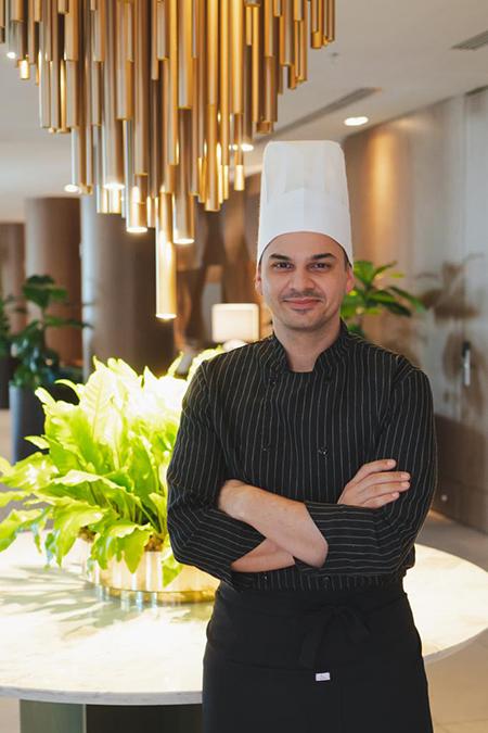 Osli Restaurante do WK Design Hotel tem novo Chef