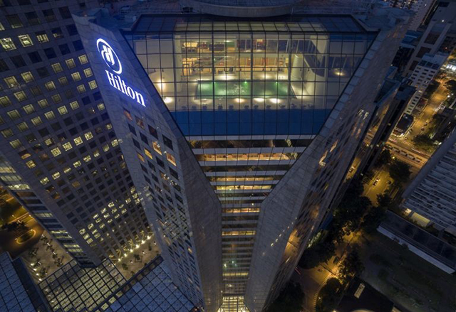 Hilton SP Morumbi é premiado pela Hoteis.com
