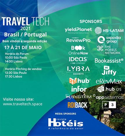 Travel Tech Brasil & Portugal terá início dia 17 de maio
