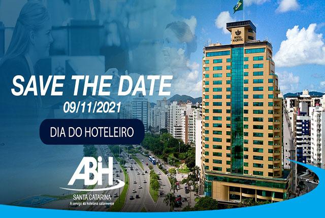 ABIH-SC vai comemorar Dia do Hoteleiro com programação especial