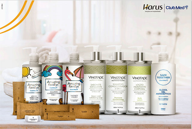 Harus fornece amenities da linha Vinotage aos resorts do Club Med