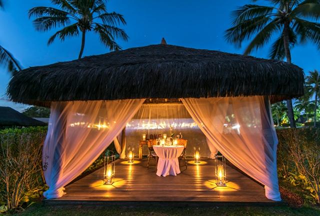 Tivoli Praia do Forte aposta em jantares românticos